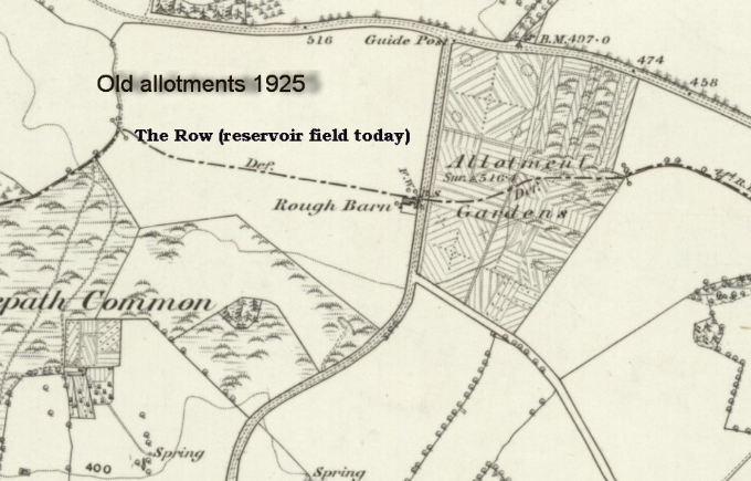 Old Allotments 1925